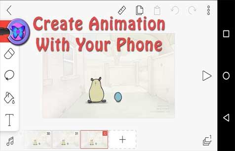 cartoon animation app