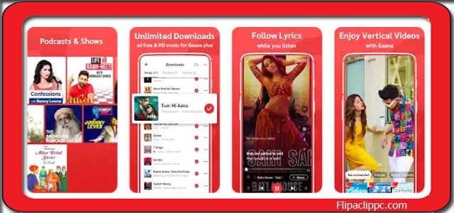 Gaana App Download for PC windows 10