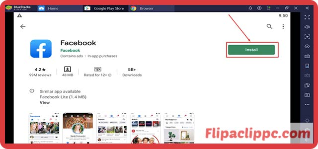 Facebook App Download for PC/MAC and Windows 10 For free