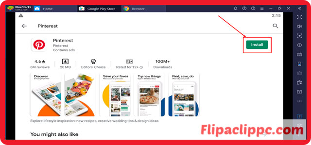 The Features of the Pinterest App for Windows 10