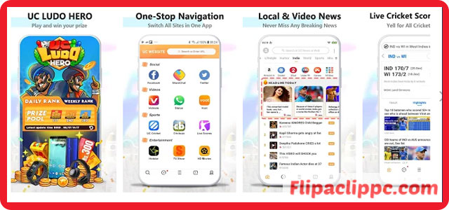 Features of UC browser download for PC