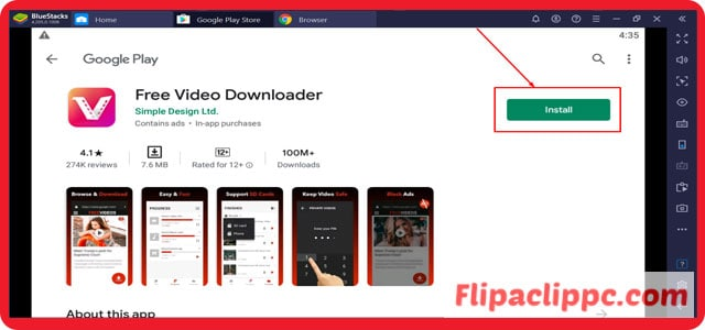 Vidmate App Download for PC Windows 10 For Free.