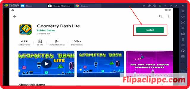 Geometry Dash Lite For PC, Windows 10/8.1/8/7 Download for Free