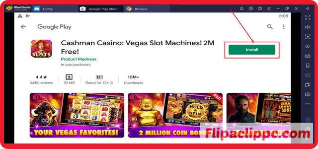 Cashman Casino Las Vegas Slots for Windows 10/8.1/8/7 Download For Free.
