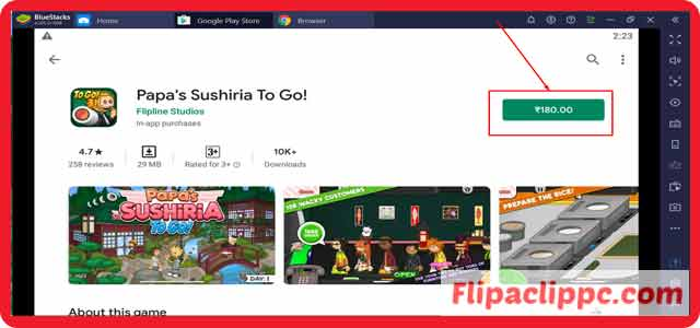 Papa's Sushiria To Go for Windows 10/8.1/8/7 Download Today on PC