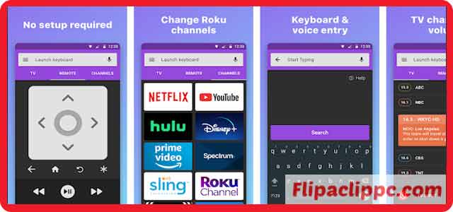 Features of the Extremely Extravagant Roku Remote Download For PC