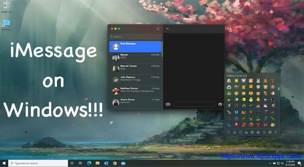 imessage for pc windows 10