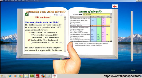 Features of the Bible App for PC